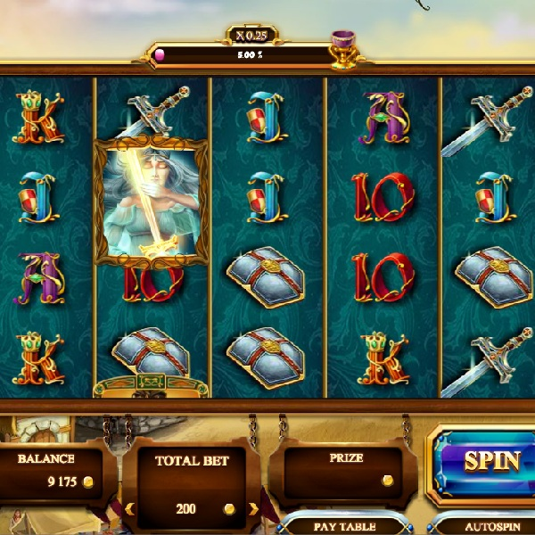 Riches of Camelot Slot Features Four Free Spins Games