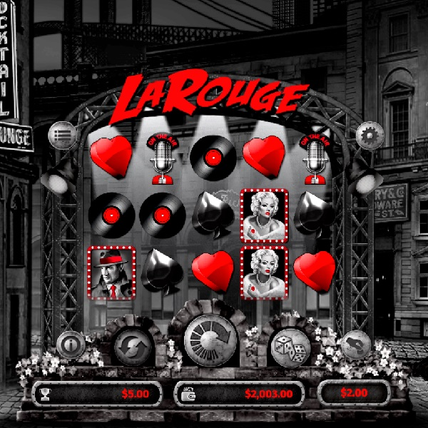La Rouge Slot Takes You Back to 1940s America