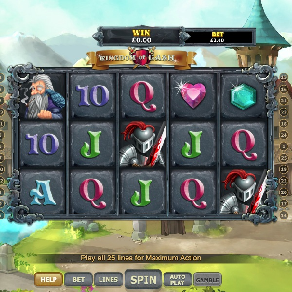 Kingdom of Cash Slot Takes You to a Medieval Competition