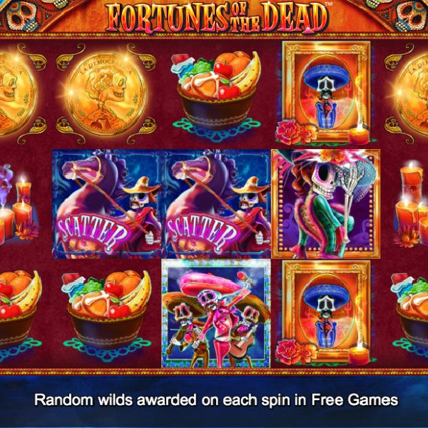 Fortunes of the Dead Slots Features Three Bonus Games