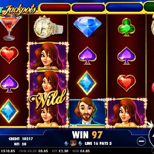 Star Jackpots Slots Offers Four Progressive Jackpots
