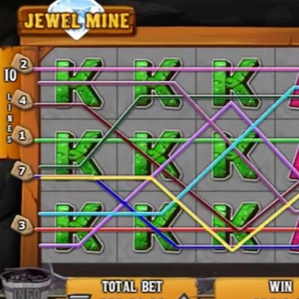 Jewel Mine Slot Offers an Explosive Progressive Jackpot