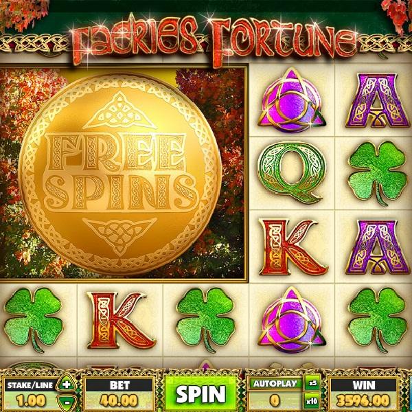 Faeries Fortune Slot Features Three Bonus Games