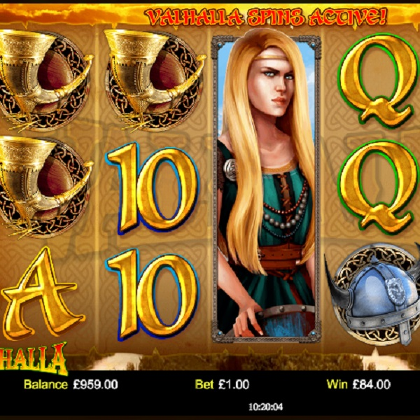 Valhalla Slot Allows You to Choose Your Bonuses
