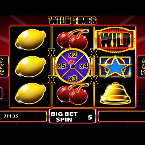 Wild Times Slot Offers Traditional Gaming with Bonuses