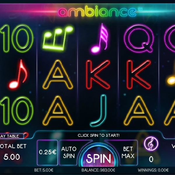 Ambiance Slots Will Relax and Reward