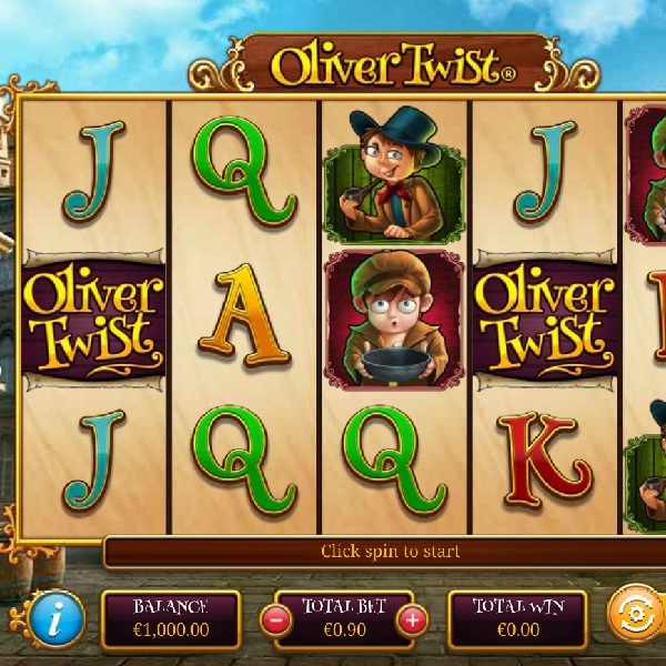 Oliver Twist Slot Could Make You Rich with Bonuses