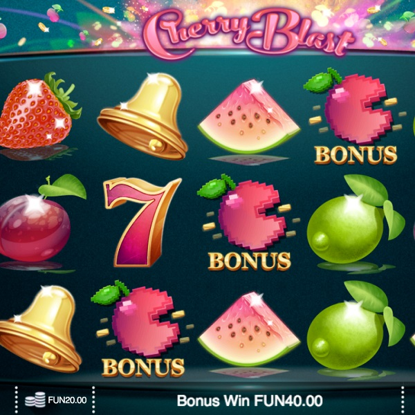 Cherry Blast Slot Offers Three Bonus Features