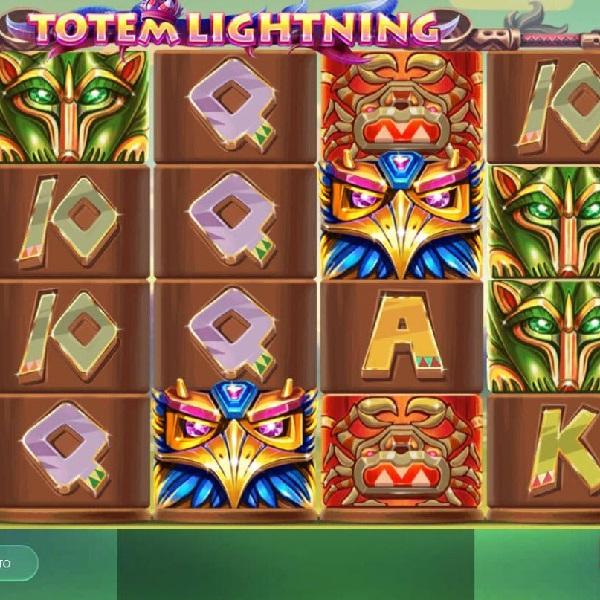 Totem Lightning Slots Offers Progressive Jackpots on a Pole