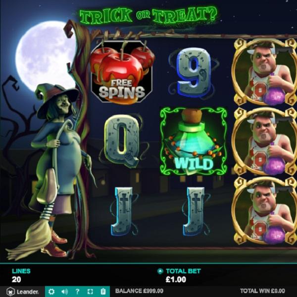 Trick or Treat Slots Offers A Halloween Progressive Jackpot