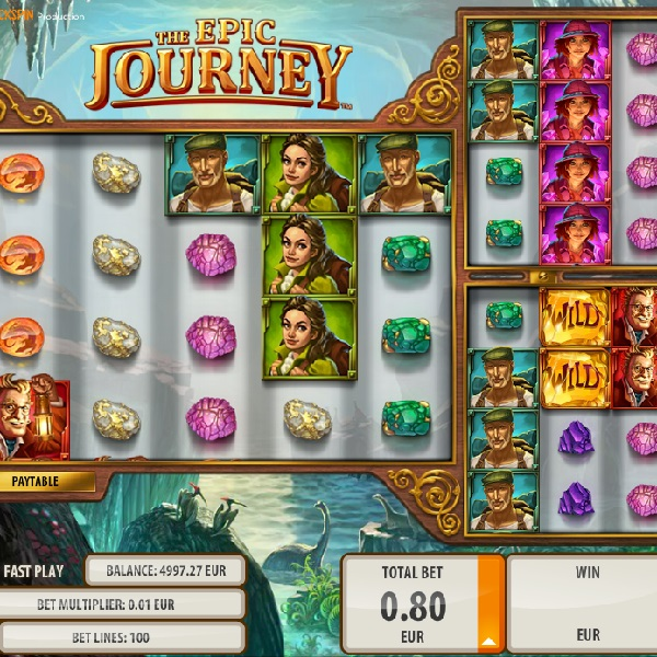 The Epic Journey Slot Offers Players a Multitude of Bonuses
