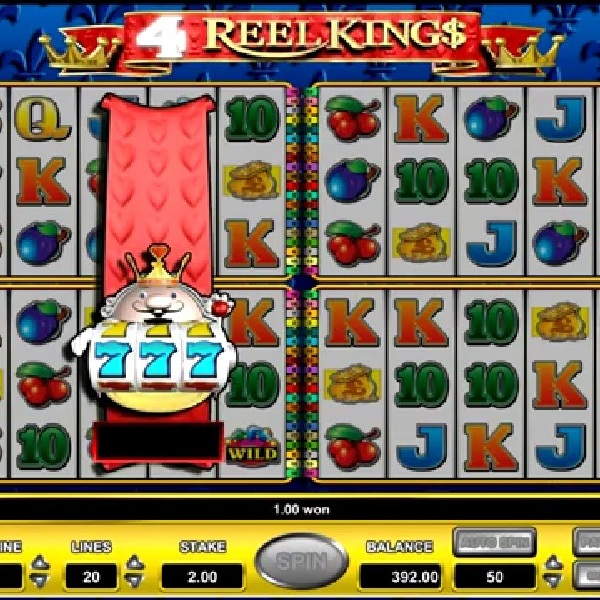 4 Reel King$, a new slot from Novomatic, features four sets of reels that players can enjoy simultaneously.