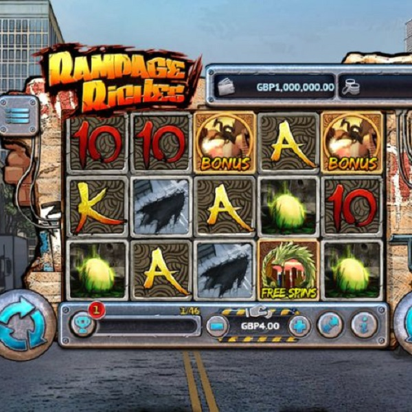 Rampage Riches Slot Is a Battle for Cash