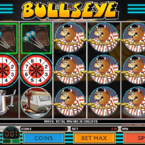 Bullseye Slot Brings The Show to the Reels