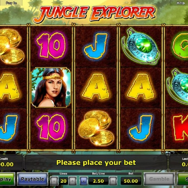 Jungle Explorer Slot Takes You to the Jungle for Free Spins