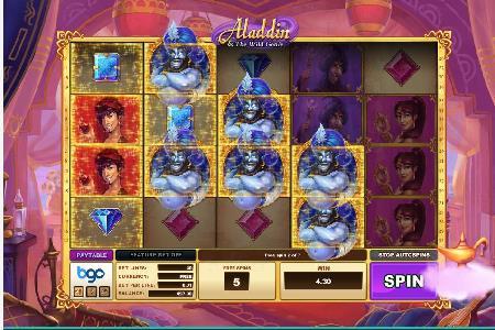 Aladdin Slot Released By Bgo Studios