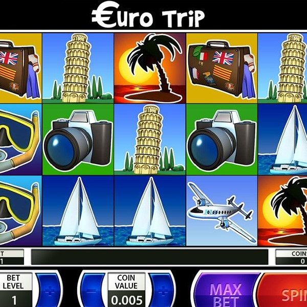 Euro Trip Slot Machine Features Double Wilds