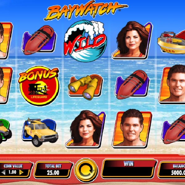 Baywatch Slots Brings Your Favourite Characters to the Reels
