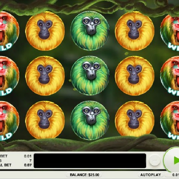 7 Monkeys Slot Offers Hundreds of Free Spins