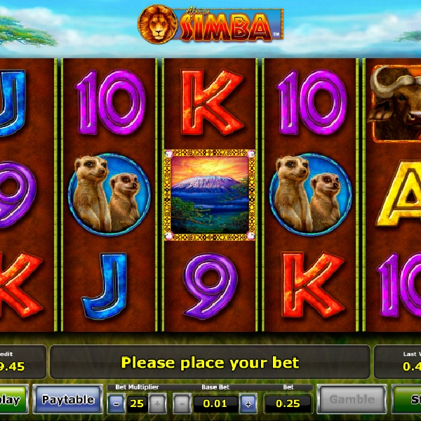 African Simba Slot Takes You on Safari
