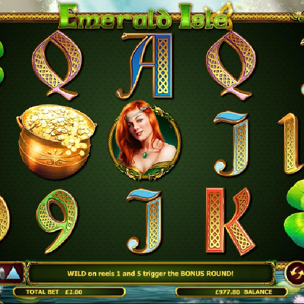 Find the Pot of Gold in Emerald Isle Slot