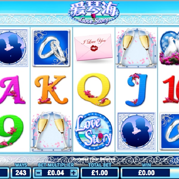 Love Story Slot Offers a Romantic Spin of the Reels