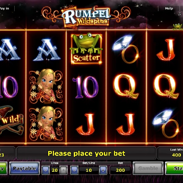 Rumpel Wildspins Features Free Spins with Sticky Wilds
