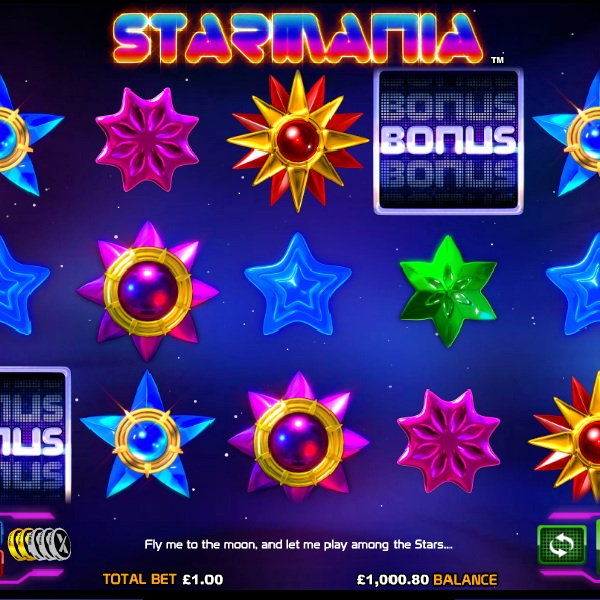 Starmania from NextGen Gaming Offers Shining Wilds