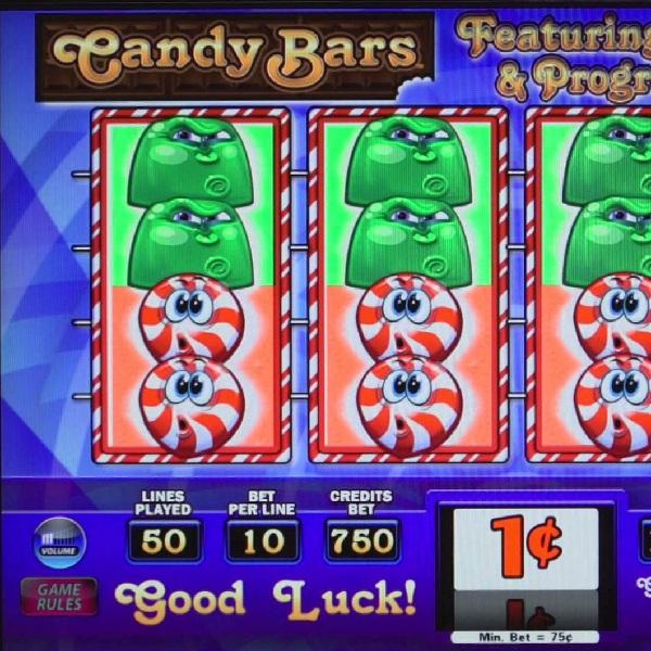 Candy Bars Slot Offers Three Progressive Jackpots