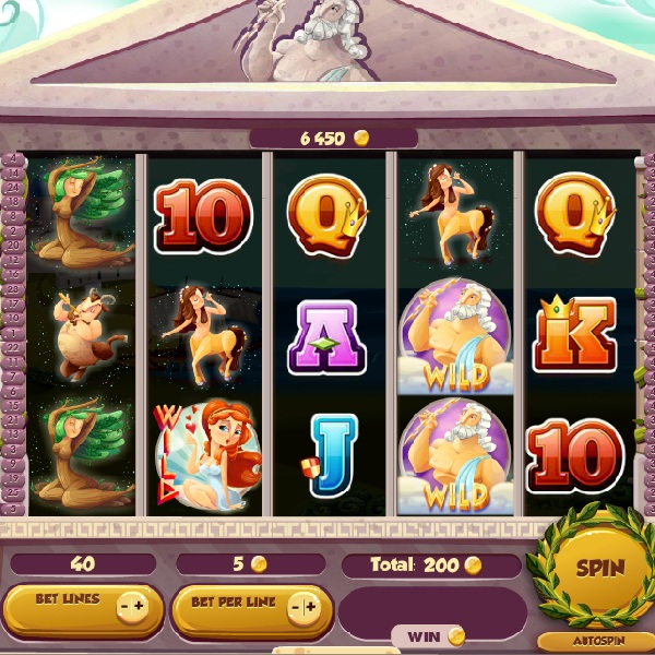 Olympic Gods Slot Features Sticky Wilds