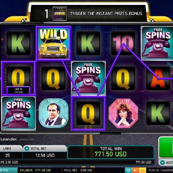 Taxi Slot Offers Multiple Bonus Games