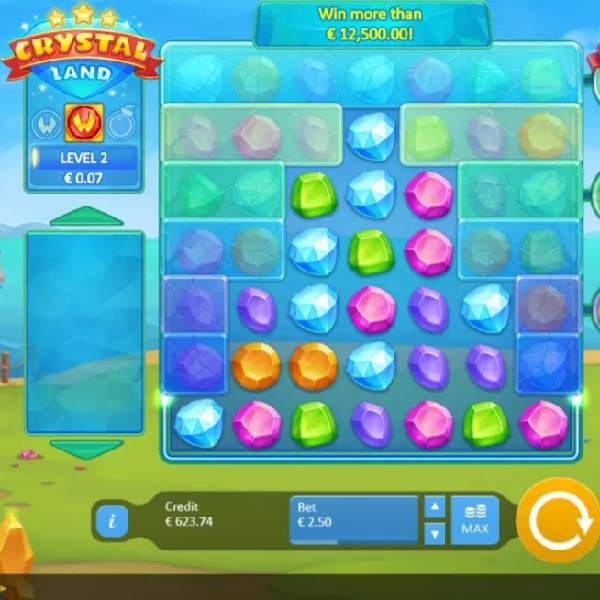 Crystal Land Slot Offers a Different Kind of Game