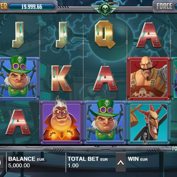 Power Force Villains Slot Features Two Progressive Jackpots