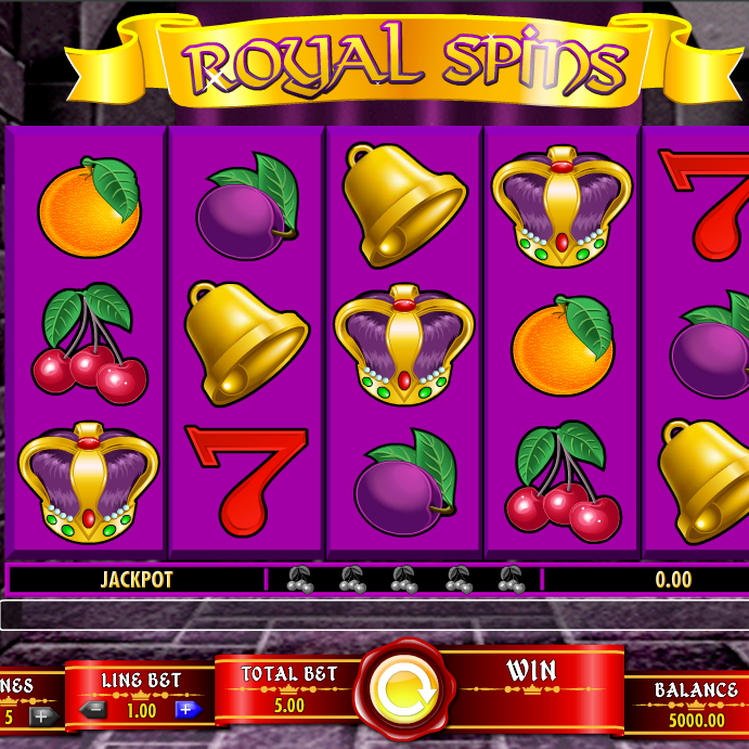 Royal Spins Slot Offers Fruity Jackpots