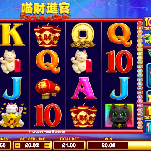 Fortune Cats Slot Will Improve Your Luck