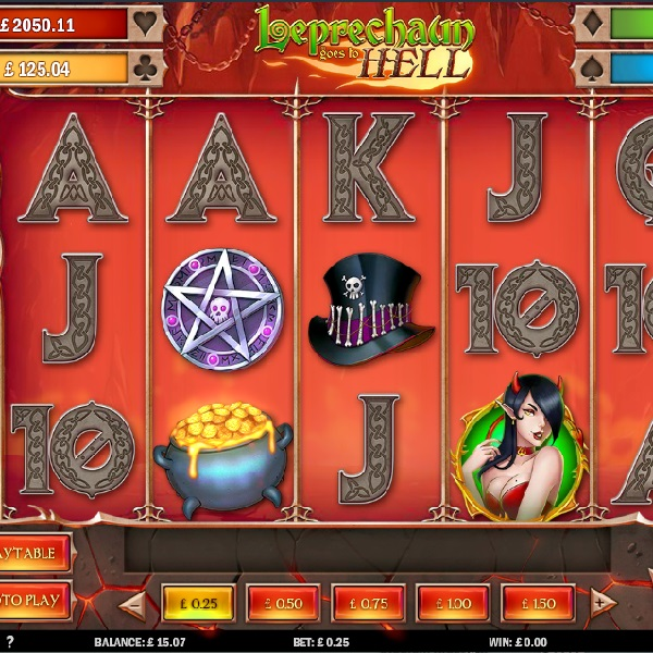 Leprechaun Goes to Hell Slot Offers Fiery Progressive Jackpots