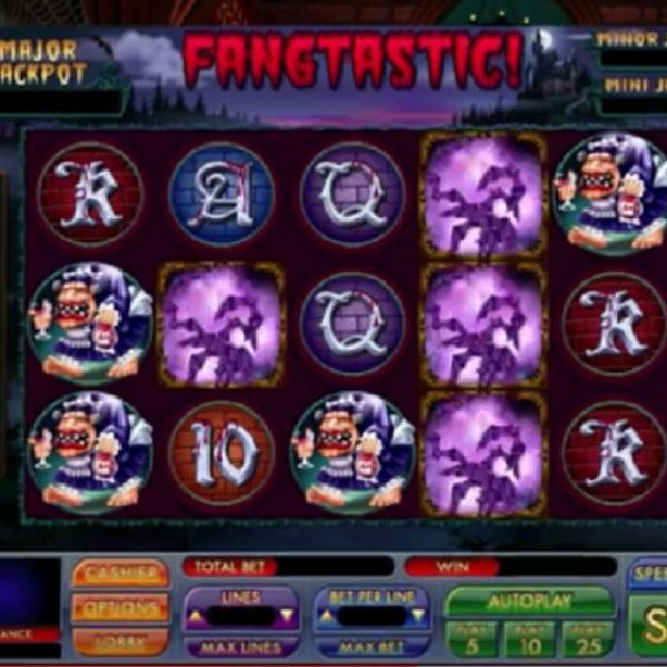 Fangtastic Slot Offers Three Progressive Jackpots