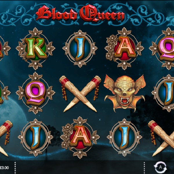 Blood Queen Slots Features Enhanced Free Spins