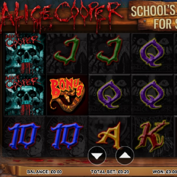 Alice Cooper School's Out For Summer Slots Brings Music to the Reels