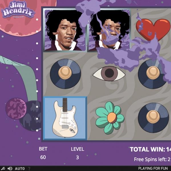 Jimi Hendrix Slot Brings Music to the Reels