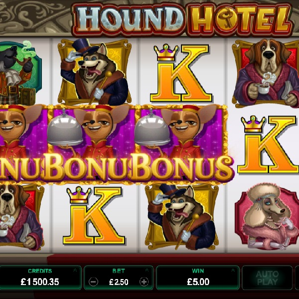 Hound Hotel from Microgaming Offers Stacked Wilds and More