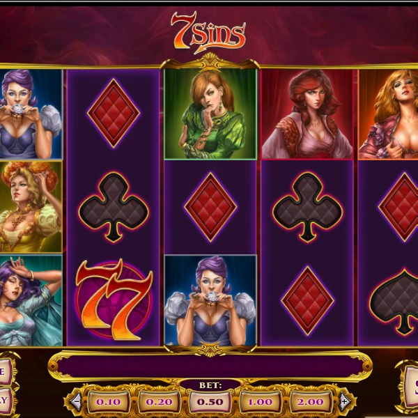 7 Sins Slot Introduces Seven Beautiful Women