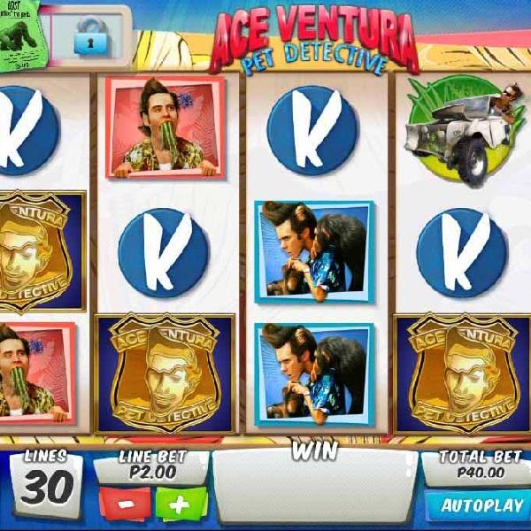 Ace Ventura Pet Detective Slots Offers Animal Bonuses