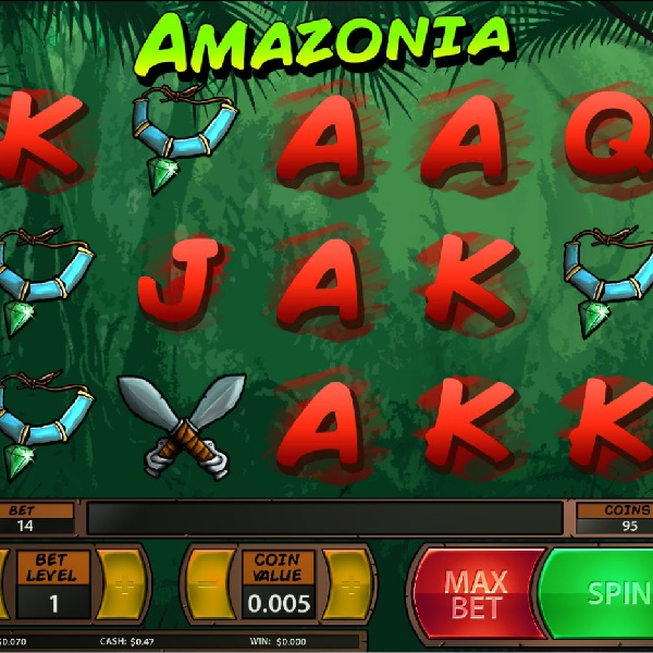Amazonia Slot Takes You into the Jungle