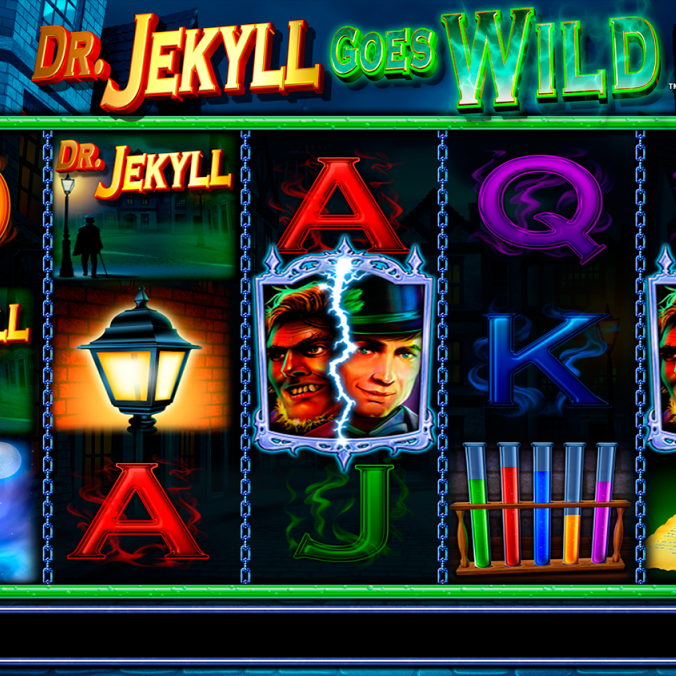 Dr. Jekyll Goes Wild Slots Offers Unlimited Free Spins