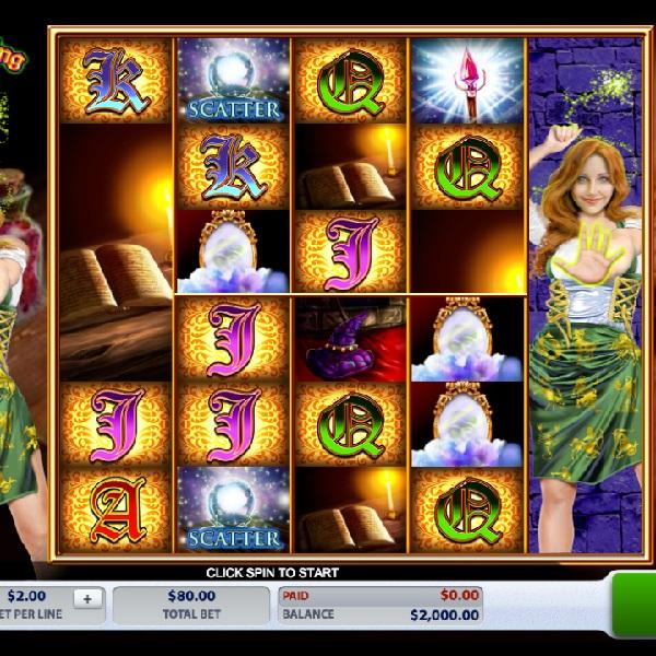 Enchanting Spells Slot Features 8 Magical Reels