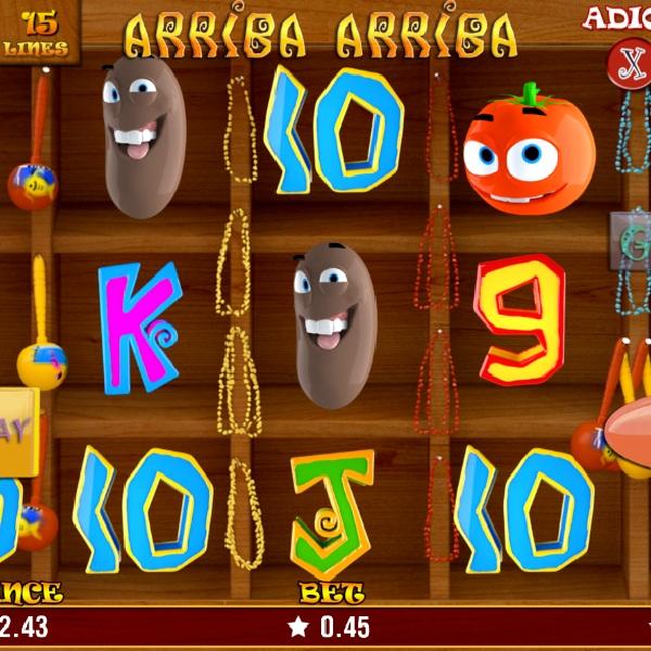 Arriba Arriba Slot Features Mexican Themed Spins