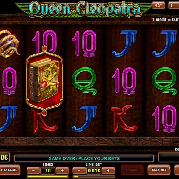 Queen Cleopatra Slots Offers Ancient Egyptian Free Spins