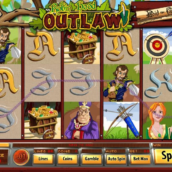 Robin Hood Outlaw Slot Rewards You with Bonuses