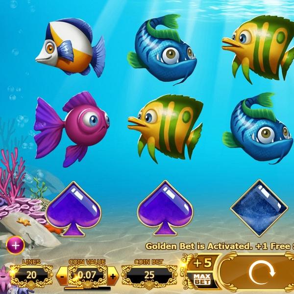 Golden Fish Tank Slot Offers Rewarding Free Spins